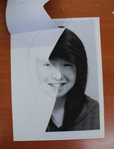 half-portrait