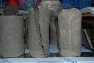 Broken Slab Pots