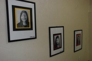Half-Portrait Display