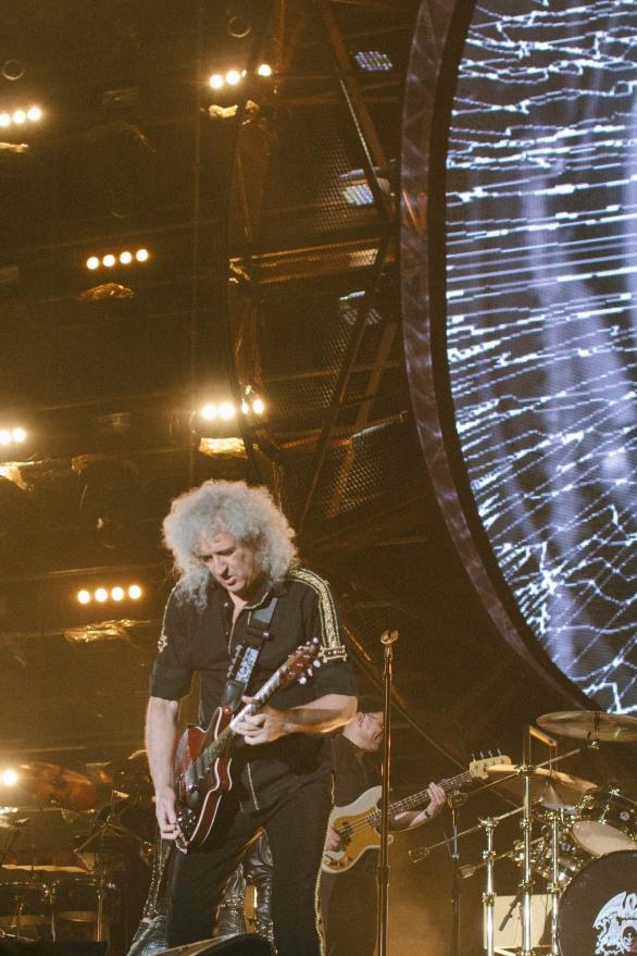 Brian May in Korea