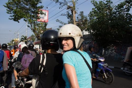 Moped Cruising