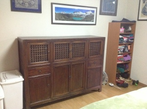 Antique Korean Dresser
