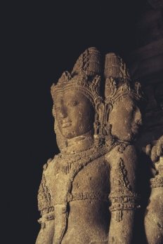 One of the Buddhas inside.