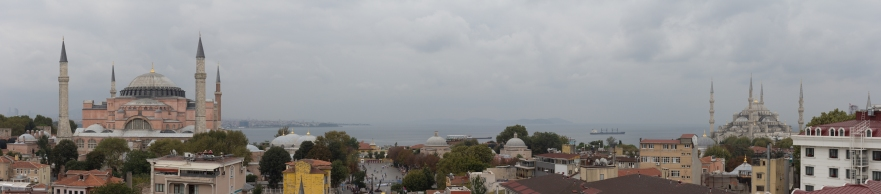Pano of Blue Mosque