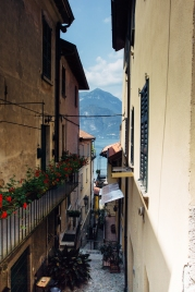 One of the alleys in Varenna. Possible the prettiest city on the lake.