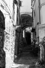 One of the many small alleys through the cities.