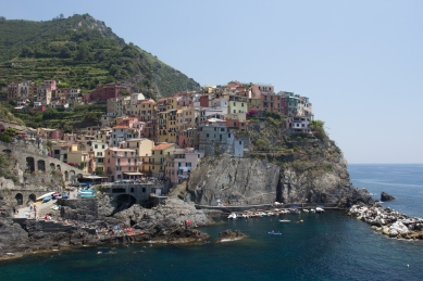 Another view of Vernazza, as I mentioned my favorite to take pictures of.