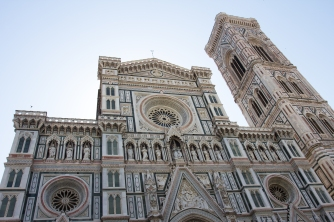 Il Duomo so nice and clean. Chopped off the bottom of the church to hide the massive numbers of people.