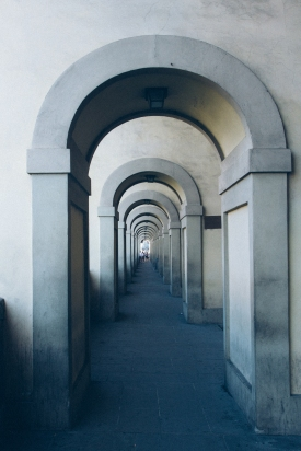 Arches in Florence