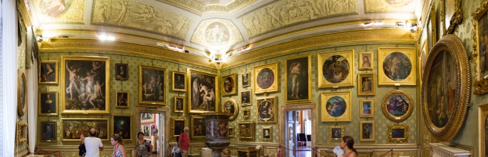 Pitti Palace. So much artwork.