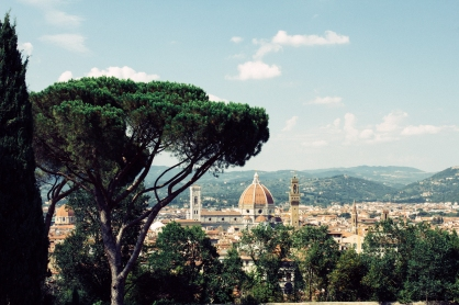 Il Duomo from the fort.