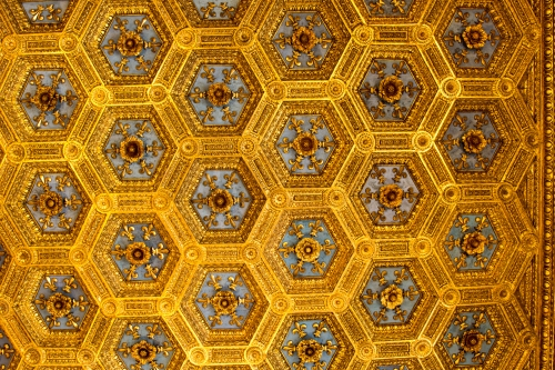 Ceiling of one of the rooms of the Signoria
