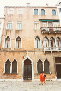 The architecture of Venice was so cool as it combined pieces from all over the Mediterranean.