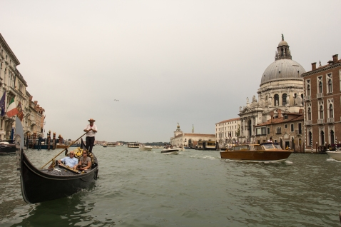 Gondola on the Grand Canal. I took so many pictures of the Gondolas. Its hard not to.