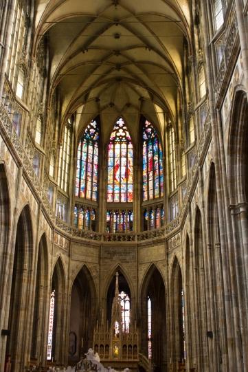 A gothic church in Prague I believe