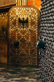 Cool medieval doors in Prague