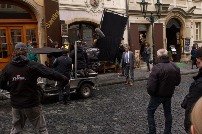Filming the new Thor Movie
