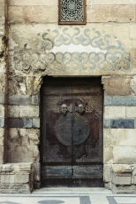 Intricate door of one of the mosques