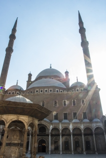 Another picture of the Mosque of Muhammad Ali.