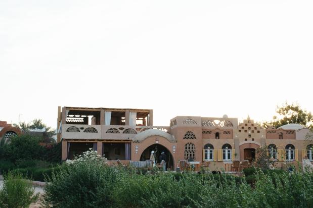 The Nubian Hotel in Abu Simbel