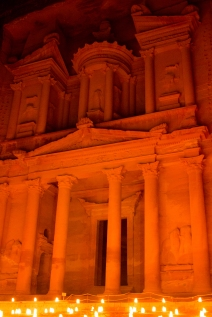 One last picture of the treasury, well worth the hike down at night.