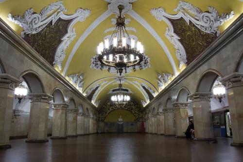 Komsomolskaya station.