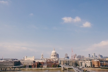 A view from the Tate Modern.