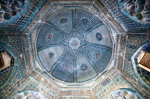 Ceiling of a tomb.