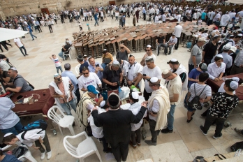 Thursday is Bar Mitzvah day at the Western Wall.